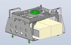 Kartongreifer / Klemmgreifer zum palettieren ganzer Kartonlagen