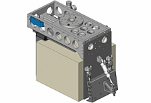 Klemmgreifer / Kartongreifer - leichte Bauform